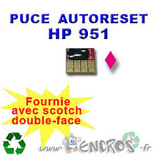 RECHARGEABLE Puce Auto-Reset Magenta HP951