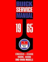 OEM Shop Manual Buick Electra/Lesabre/Riviera/Wildcat Chassis 1965