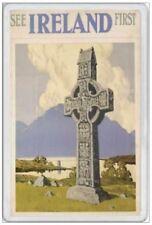 IRELAND - JUMBO FRIDGE MAGNET - SAINT PATRICK CROAGH PATRICK SLEMISH IRISH EIRE