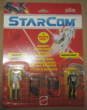 Starcom Mattel Double Pack Lone Wolf And Sgt. Ramor RARE Case Fresh