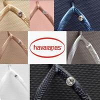 Original Genuine HAVAIANAS  Slim Crystal Flip Flops Women  2019 new colors!