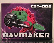 KFC Transformers CST-002 Haymaker / SLUGFEST Mini Cassette, MISB/New (3rd Party)