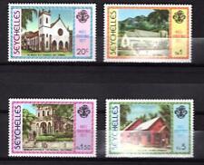 Seychelles 1977 Weihnachten Christmas Mi. 410-413 Postfrisch UMM