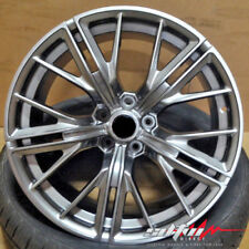20X10 / 20X11 Staggered LZ1 Style Graphite Wheels Fits Chevy Camaro SS RS LS
