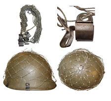 Filet de casque allemand / German Helmet Net compatible WWII 6 crochets