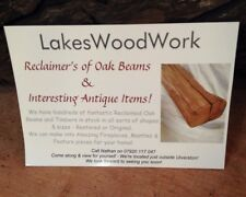 RECLAIMED ENGLISH OAK BEAMS & OTHER LOVELY TIMBERS In Stock!! (Full UK Delivery)