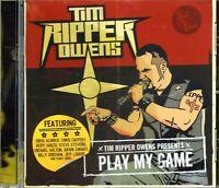Tim Ripper Owens (Judas Priest) - Play My Game (2009 CD) Doug Aldrich/Rudy Sarzo