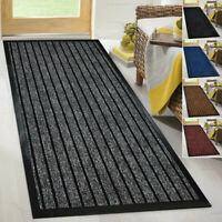 Heavy Duty Non Slip Backing Indoor Outdoor Rubber Mat Rug Runner Carpet Washable