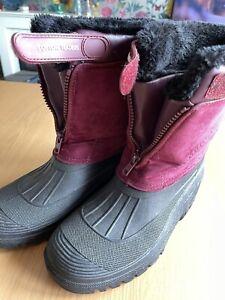 ladies snow boots size 6
