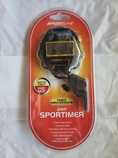 Sportline Giant All Purpose SportTimer Stopwatch - Whistle New