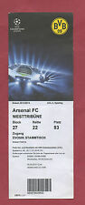 Orig.Ticket   Champions League  13/14  BORUSSIA DORTMUND - FC ARSENAL  !  SELTEN