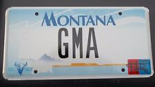 "MT VANITY LICENSE PLATE "" GMA "" GOOD MORNING AMERICA ABC TV GEORGE GLEN ANDERSON"
