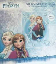 NEW Disney Frozen Kids Warm Super Soft Plush 40 X 50 Polyester Throw Blanket