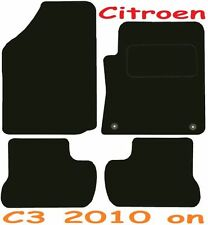 CITROEN c3 Deluxe qualità Tappetini su misura 2010 2011 2012 2013 2014 2015 2016