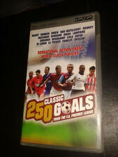 * Sony PSP TV SERIES * 250 CLASSIC GOALS FROM THE PREMIER LEAGUE * UMD
