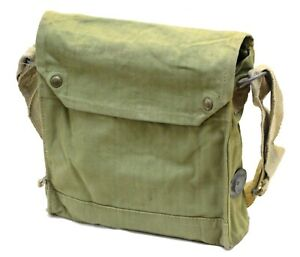 Genuine MkVII Gas Mask Bag with straps