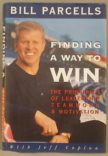 BILL PARCELLS Finding A Way To Win FIRST EDITION New York Giants Jets Patriots