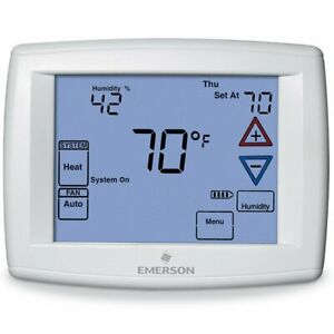 White-Rodgers 1F95-1291 90 Series Programmable Touchscreen Thermostat 4H/2C