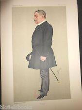 Col The Hon H W J Byng JP: Original Spy Vanity Fair Print - 14/5/1892 (Byngo)