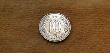 Dänemark 10 Kronen 1979 aus Sammlung sehr schön