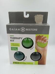 Gaiam Restore Hand Therapy Kit Brand (B8n)