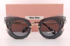 ded97335324 MIU MIU Sunglasses Mu02ss Va43c2 Dark Grey