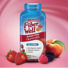 Vitafusion Fiber Well Gummy Vitamin Supplement - 220 Gummies