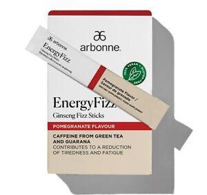 Arbonne EnergyFizz Ginseng Fizz Sticks - Pomegranate Flavor