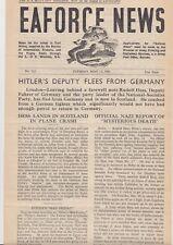 Rare East Africa May 1941 Force News - Hess Flees - Greek Navy - Iraq - Soviet