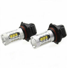 2Pcs Genuine Cree XB-D LED Fog Light or DRL 80W 1900LM, 9006/HB4, White 6000K
