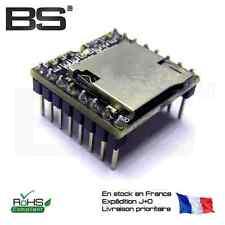 Module MP3 WAV 24Bit DAC Open Source Mini MP3 Player module Arduino Pi BS10779