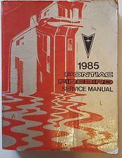 Werkstatthandbuch / Shop manual Pontiac Firebird & Trans Am 1985