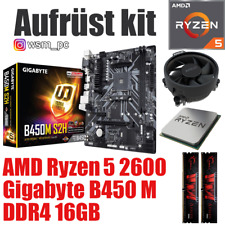 AMD 🆁🆈🆉🅴🅽 5 2600 ● GIGABYTE B450 Mainboard ● 16GB RAM ● Ryzen PC Bundle Kit