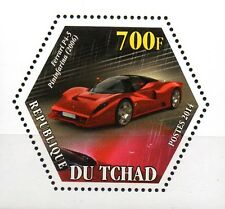 Tschad Wabenmarke Ferrari Pininfarina   **/MNH