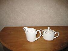 COALPORT *NEW* ELANORA Set crémier et sucrier Set milk pot and sugar bowl