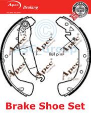 APEC BRAKING Ersatz 228mm x 42mm Trommelbremse Schuh Satz shu552 (mit Hebel)
