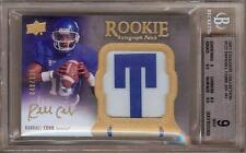 2011 EXQUISITE RANDALL COBB RC AUTO PATCH 048/135 BGS 9 / 10!!