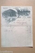 FACTURE DES GRANDS MAGASINS Jumel & Champigny à Nantes en 1909