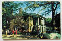 Tuscaloosa Alabama  Postcard University Gorgas Home (f628)