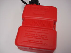 Scooter Motor cycle 1 Litre Spare Fuel Petrol Can - Red Fuel Friend 1 ltr