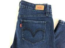 Levi's 518 Superlow Dark Wash Bootcut Denim Jeans Junior's Size 7 M