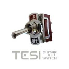 Tesi OTTO/L 12mm Latching Stainless Steel Guitar Toggle Kill Switch