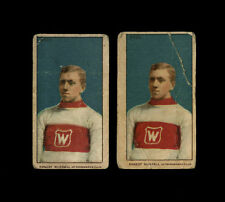 1910 1910-11 C56 IMPERIAL TOBACCO ITC HOCKEY CARD~#20~ERNEST RUSSELL~2-TWO SIZES
