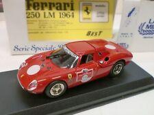 LA MINIMINIERA 1/43 - FERRARI 250 LM FERRARI DAYS 1983 - 8700 BEST
