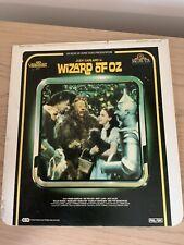 Vtg Rca Mgm Video Disc Wizzard Of Oz Retro Media