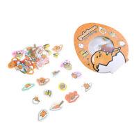 New 50pcs Gudetama Lazy Egg Cute Cartoon Label Decal Decor Stickers Scrapbooking