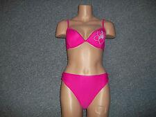 Bikini pink mit Stickerei Gr. 38 Cup B NEU APART