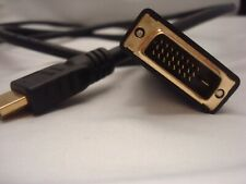 5' cable HDMI female to DVI male w/gold-plated connectors -FREE SHIPPING-