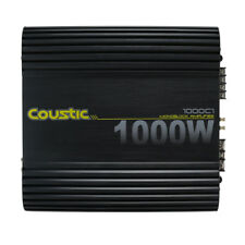 Coustic 1000C1 1000W Class-AB Monoblock Car Audio Amplifier MTX Audio NEW