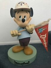 Rare Disney Disneyland 50th Anniversary Mickey Mouse Big Fig Figure Statue